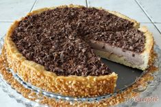 Csokoládés (panna cotta) torta   TopReceptek.hu