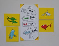 Dr Seuss  Canvas Paintings Wall Art Decor 1 Fish 2 by mamashpey1, $176.00