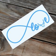 Air Force Love infinity car decal by RebeccaLaneGraphics on Etsy
