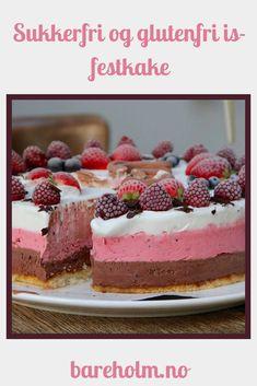 Sommerens diggeste is-festkake! Tiramisu, Cheesecake, Ethnic Recipes, Food, Summer, Cheesecakes, Essen, Meals, Tiramisu Cake