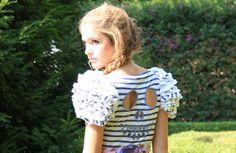 Sesión de fotos de moda para la colección de verano 2013 Spanish Garden de Francis Montesinos