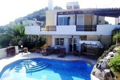 Pano Stalos Villas Chania Crete @ GO Villas and Cottages White Mountains, Going On Holiday, Mediterranean Sea, Stunning View, Crete, Greek Islands, Terrace, Swimming Pools, England