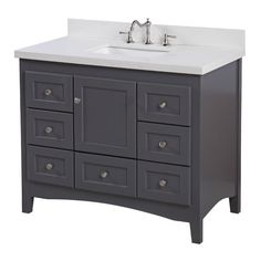 "You'll love the Abbey 42"" Single Bathroom Vanity Set at Joss & Main - With Great Deals on all products and Free Shipping on most stuff, even the big stuff."