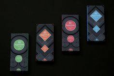 Hypnotik #Chocolate #Packaging #Design #dark #black