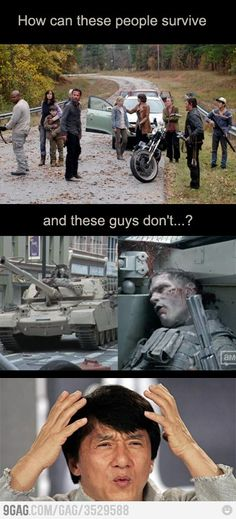 """TWD logic... It's because they have Daryl Dixon."" repinning for the comment"