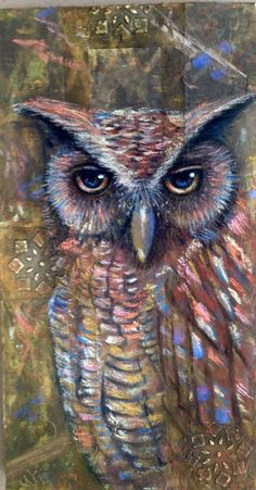 Reality of Wisdom by mgoodell in Painting Wildlife: Acrylic Mixed Media @ www.Craftsy.com