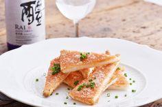 にんにく香る 明太カナッペ | 純米酒がもっと美味くなる 片岡宏之のふだん飲みレシピ | Pen Online