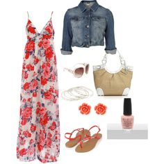 Pretty for a casual summer day