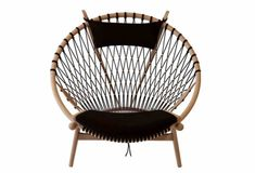 "fauteuil PP130 ""CIRCLE CHAIR"", Hans Wegner -PP Møbler"