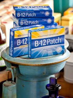 Vitamin B-12 Patches - Maximum Absorption for Increased Energy and Improved Memory