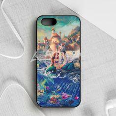 The Little Mermaid Red Hair iPhone 5|5S|SE Case | armeyla.com