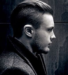Slicked back undercut: allows you to be versatile with your look depending on how you comb it.