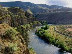 Yakima River Canyon.