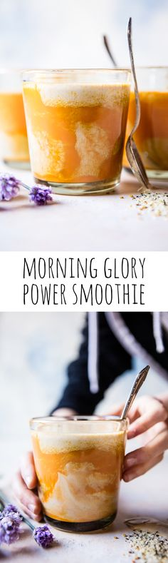 Morning Glory Power Smoothie | halfbakedharvest.com @hbharvest