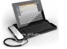 cool ipad skype keyboard!