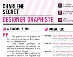 Visual Resume, Le Cv, Site Internet, About Me