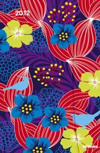 Fabulous floral pattern design by Hannah Werning