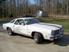 '75 Cutlass 442  ours is blue