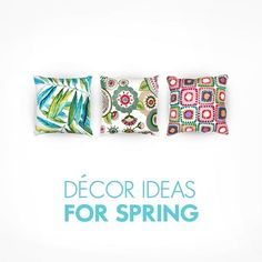 Decor Ideas For Spring...