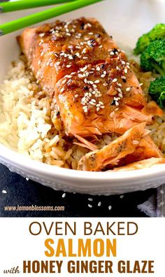 Oven Baked Salmon wi