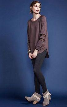 Silk and Fleece Tunic