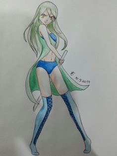 I made up the anime drew her for the second time you can see just keep scroling ^°^