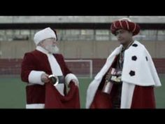 Funny tv commercial to use when teaching students about the tradition of the Three Kings bringing Hispanic children their Christmas gifts on January 6th.  My native Spanish speakers enjoy it, too.  (Papá Noel ayudado por uno de los Reyes Magos - 20 segundos YouTube)