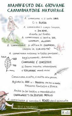11 ottobre giornata del camminare. Il manifesto del camminatore di Bambini e Natura