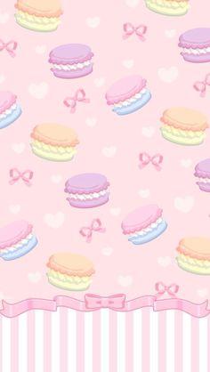 Sfondo macarons colorati