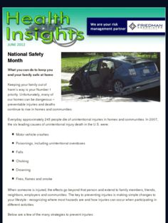 Check out this Mad Mimi newsletter:  Our Health Risk Insight for June.  #Health #Newsletter   http://mad.ly/a0fb92
