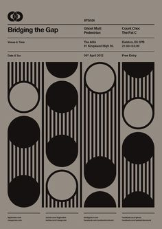BTG Poster Series by Ross Gunter, via Behance