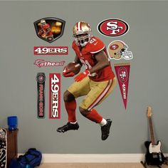 NFL San Francisco 49ers Frank Gore Home Wall Graphics for only $92.24 You save: $7.75 (8%)