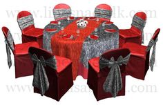 Zebra/ red table decor inspiration idea.