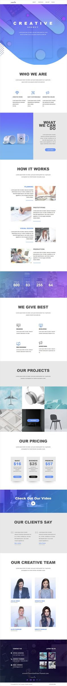 Graycells is clean and modern design responsive multipurpose #email #newsletter template for viral #marketing with 10 ready to use layouts and 120+ modules to download & live preview click on image or Visit  #webdev