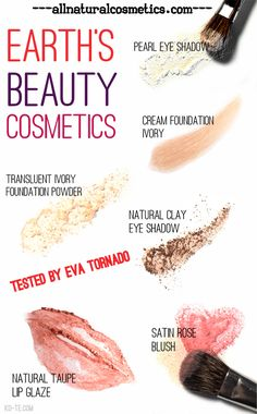 Earths Beauty organic makeup products from the USA