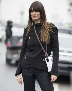 LOOK OF THE DAY: Caroline De Maigret sporting the new 'The Gabrielle Chanel' handbag #ootd #CarolineDeMaigret via MARIE CLAIRE AUSTRALIA MAGAZINE OFFICIAL INSTAGRAM - Celebrity Fashion Haute Couture Advertising Culture Beauty Editorial Photography Magazine Covers Supermodels Runway Models