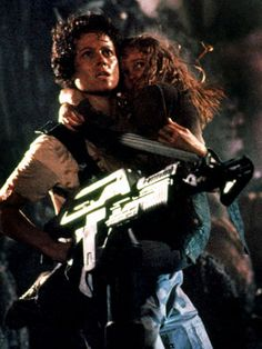 "Ellen Ripley, a Feminist Film Icon, Battles Horrifying Aliens ... and Patriarchy.  ""Stay away from her you Bitch""."