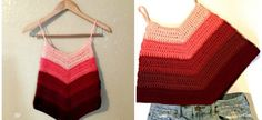 Ombre Crochet Tank Top - Hooked on Homemade Happiness