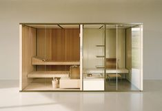BodyLove, una Spa personale con sauna e hammam Bath Rugs, Bathroom Rugs, Steam Bath, Pool Sizes, Sauna Room, Turkish Bath, Pool Towels, Elle Decor, Glass Panels
