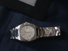 BMW Silver Unisex Watch. Brand New.