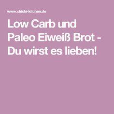 Low Carb und Paleo Eiweiß Brot - Du wirst es lieben!