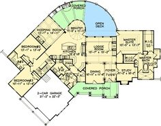 Interior Courtyard Floor Plan My Dream Homes Pinterest Courtyards House Plans And Spanish