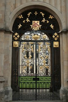 gate of all souls college - Oxford