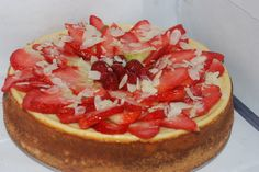 Strawberry cheesecake.  This is made by Cheesecake Romania