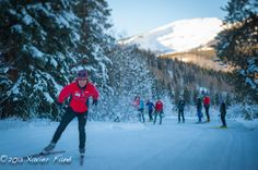 Nordic skiing in Gunnison-Crested Butte Colorado. www.VisitGCB.com and plan your winter getaway.