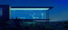 ArtStation - Desert house, Igor Piwowarczyk