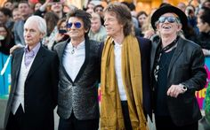 Charlie Watts, Ronnie Wood, Mick Jagger and Keith Richards: who have 16 children and 13 grandchildren between them