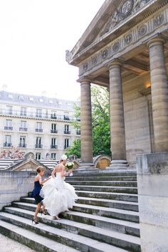 Truth be told, I've seen A LOT of weddings. But this Paris elopement pretty much takes the cake on romance. I'm talking vows in the Chapelle Expiatoire, photos by the Eiffel Tower, and glam-driven s.