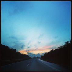 Onderweg met de auto