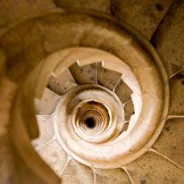 Sagrada Familia's staircase